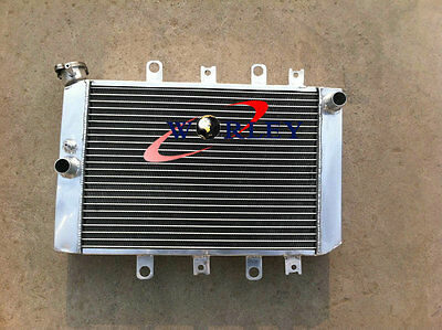 ALUMINUM RADIATOR for YAMAHA ATV QUAD GRIZZLY YFM700/550 2007-2011 2008 2009 10