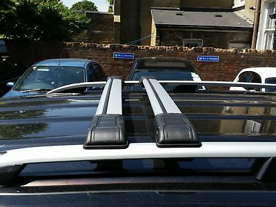 Ford Transit Custom Roof Rail Bar + Lockable Cross Bars 2013 Onward Swb