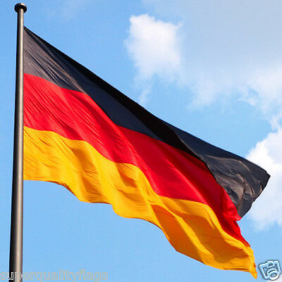 Large German Germany Flags 5*3FT ' Polyester Banner with Eyelets National Flag