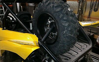 Yamaha YXZ 1000R spare tire mount. Specify driver or passenger side at check out