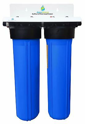 EcoPlus XL Whole House Water Filter and Salt Free Water Softener Alternative