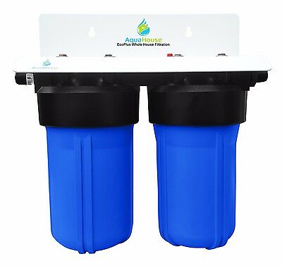 Whole House Water Filter & Salt Free Water Softener, complete with filters - New