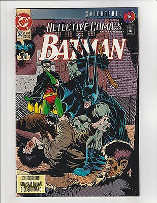 Detective Comics (1937) #665 NM- 9.2 DC Comics Batman Knightfall pt.16