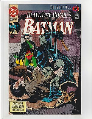 Detective Comics (1937) #665 VF/NM 9.0 DC Comics Batman Knightfall pt.16