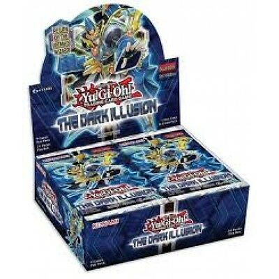 Yu-Gi-Oh! The Dark Illusion Booster Box ** X 24 Packs** Sealed