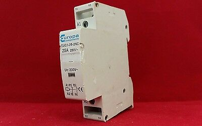 Europa Euc1-25-2Nc 25A 25Amp Single Pole Sp 1P Contactor