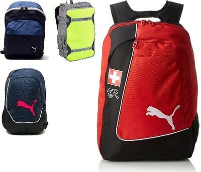 Puma Traction Backpack Mens Womens Rucksack School University Bag
