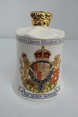 Aynsley Queen Mother 95th Birthday Bell Fine Bone China British