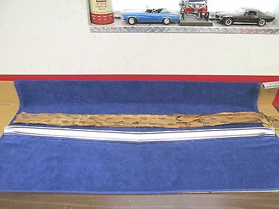 1968-69 FORD FALCON Hood Lip Moulding Trim Nos Ford 317