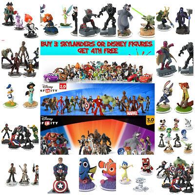 Disney Infinity Assorted Figures 1.0 2.0 3.0 | ***buy 3 N Get The 4Th Free***