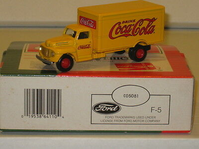 #C05081 Die-Cast Vintage Collectables Coca-Cola Ford F-5 Delivery Truck,