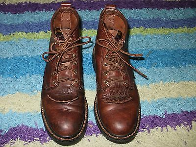 Ariat Cascade 6.5 Ladies Lacer Paddock Riding Boots With Kilties Brown 31080