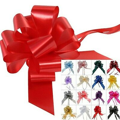 Bows Poly (Large) Cheapest On Ebay. 50Mm  Florist, Gift Wrapping Etc, Wholesale