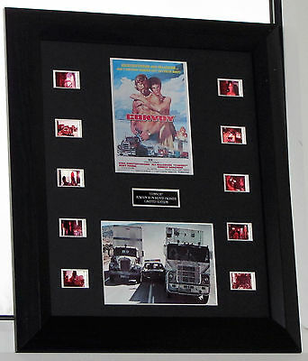 """convoy"" Film Cell Mount Original Stock Movie Footage Action  Road Movie"