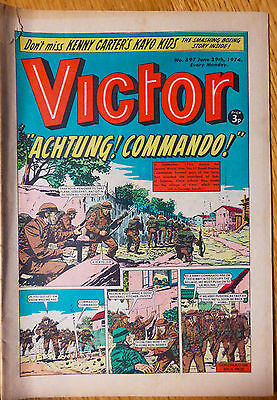 The Victor (UK Comic) - Issue #697 (29th June 1974)