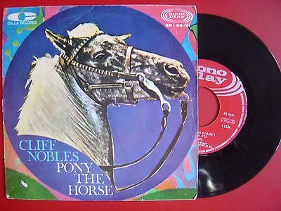 CLIFF NOBLES pony the horse / little claudie SPAIN 45 SONOPLAY 1968 MOD SOUL R&B