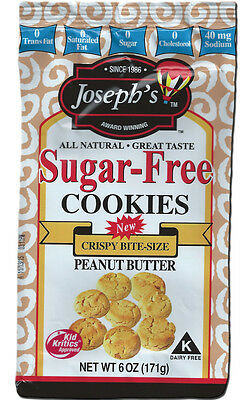 Joseph's Sugar Free Cookies Peanut Butter, Low Carb, Low Fat, No Sugar Added
