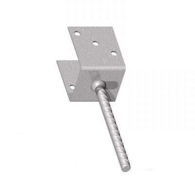 """Fencemate Galvanised Concrete in U Post Support 