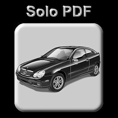 Mercedes C-Coupe (Cl203) - Service Information & Owner's Manual
