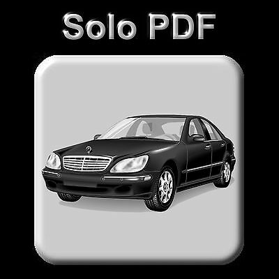 Mercedes S-Class (W220) - Service Information & Owner's Manual