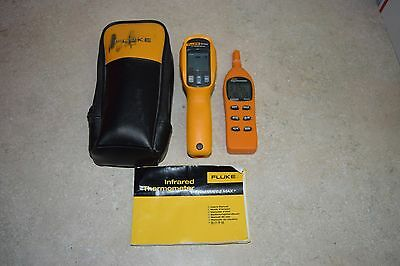 Fluke 62 MAX Infrared Thermometer Measures Temperature from -30 to +500 Degrees