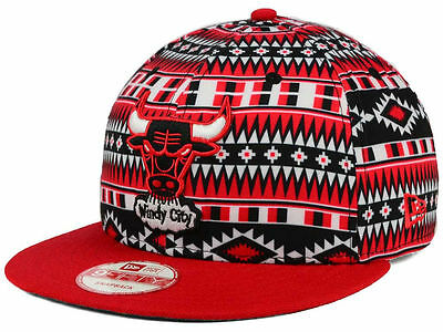New Chicago Bulls New Era NBA HWC Tri-All Print 9FIFTY Snapback Hat Cap bb48c33ad9af