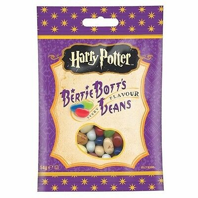 INCROYABLE HARRY POTTER 1 x Sachet de 54g JELLY BELLY BERTIE BOTTS BEANS BONBONS