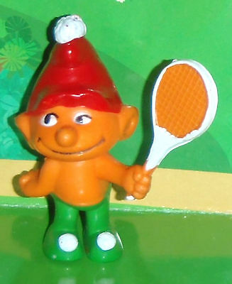 Vintage Empire Gnome/smurf With A Tennis Racket 1978 Smurf Lot
