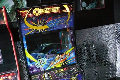 Midway Omega Race Original Arcade Machine Electronic Video Game VERY RARE Nice
