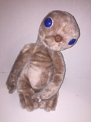 "Vintage 1982 13"" Inch Plush E.T. Stuffed Doll Extra Terrestrial Kamar Showtime"