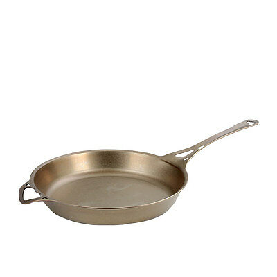 NEW SOLIDTEKNICS Australian Made AUS-ION Satin Formed Iron Skillet 30cm