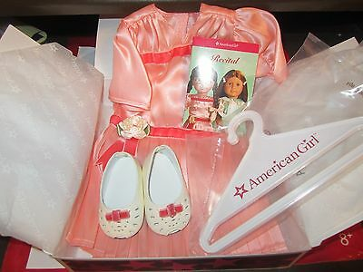 American Girl Molly Recital Outfit With Cards Hard To Find Retired Nib