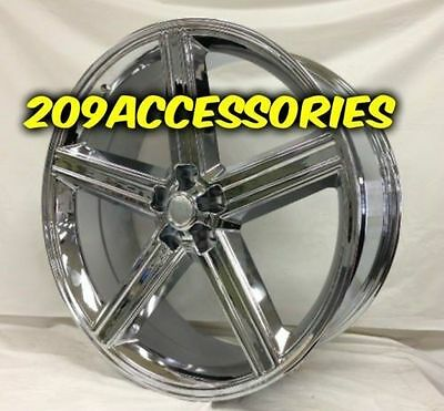 22 Inch Chrome Iroc Rims Wheels And Tires Monte Carlo Cutlass Regal