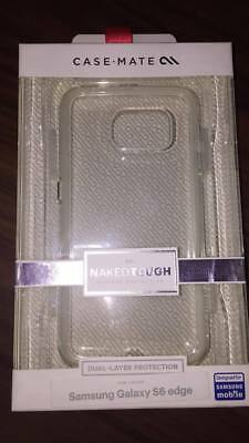 Authentic CaseMate Naked Tough Cases for Samsung Galaxy S6 & S6 edge GLAM NEW