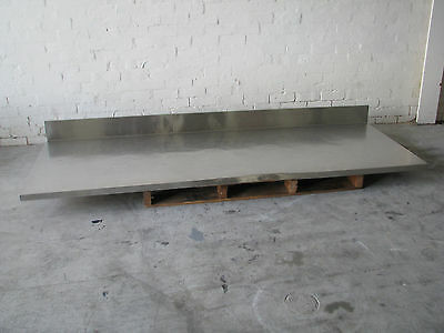 Large Stainless Steel Table Top - 2600 x 940mm