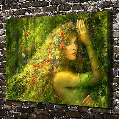 """12""""x16""""Dream goddess Paintings HD Print on Canvas Home Decor Wall Art Picture"""