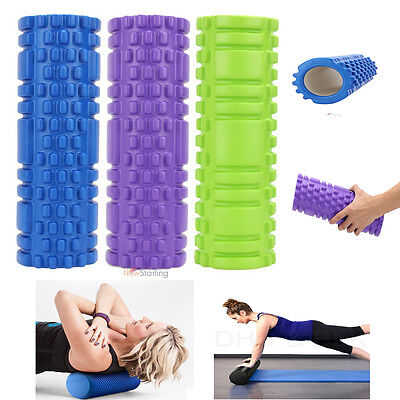 Fitness Floating Point Yoga Foam Roller for Gym Exercise Sports Massage Pillow