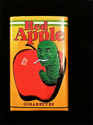 Pulp Fiction Red Apple Cigarette Pack , Must have Collectable Piece