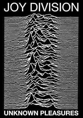 JOY DIVISION UNKNOWN PLEASURES POSTER PRINT 24x36 NEW FAST FREE SHIPPING