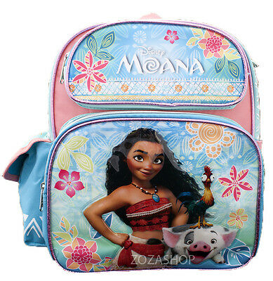 "Disney Moana SMALL Backpack 12"" Brand New School backpack NEW! Licensed"