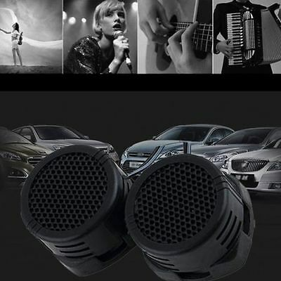 2 x 500 Watts Super Power Loud Dome Tweeter Speakers for Car 500W NEW H9 B
