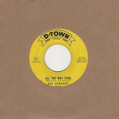 Dee Edwards - All The Way Home / Love Love Love - D Town 1063 - Northern Soul Cr