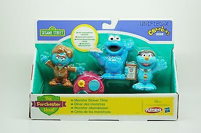 The Furchester Hotel SESAME STREET Monster Tea Room - Cookie Monster Set