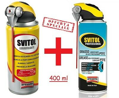 Svitol Lubrificante Arexons Svitol Sgrassante Arexons Antiossidante Sgrassante