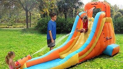 BNIB  Inflatable Water Slide With Water Gun Not To Be Mist Grab A Bargain