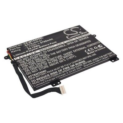 Replacement Battery For MOTOROLA BATBJA0L21