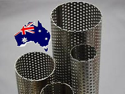 "1.5""-3.5""Exhaust Perforated tube-Stainless Steel Material"