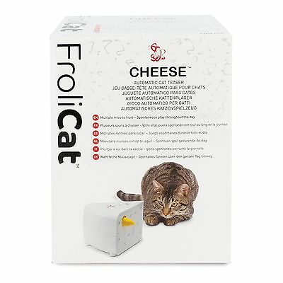 PetSafe FroliCat Cheese Automatic Cat Teaser - Interactive Game PTY19-15241