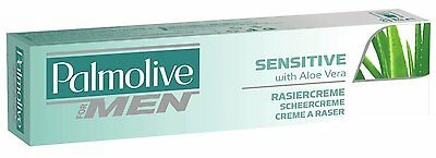 Palmolive for Men Sensitive Shave Gel Cream with Aloe Vera 100ml