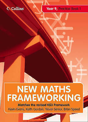 New Maths Frameworking 39. Year 9 (Bk. 1)-ExLibrary